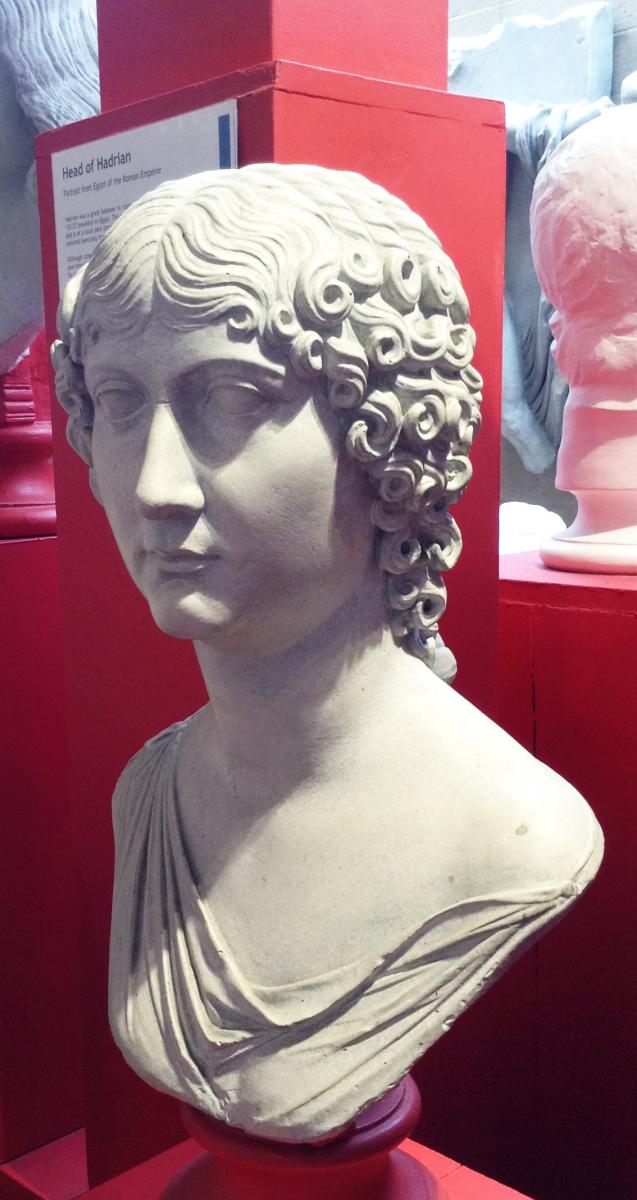 Cast of Roman Portrait Head - Staia Quinta