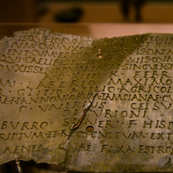 Roman certificate of citizenship